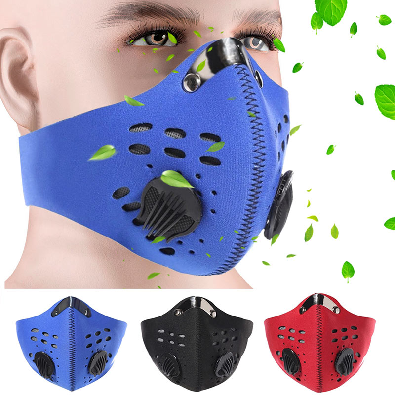 New Items Men Women Adjustable Anti PM 2.5 Dustproof Windproof Protective Mouth Face Mask Outdoor Working Safety Respirator Mask
