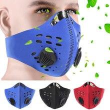عناصر جديدة الرجال النساء قابل للتعديل مكافحة PM 2.5 الغبار يندبروف واقية الفم قناع الوجه في الهواء الطلق سلامة العمل قناع جهاز التنفس