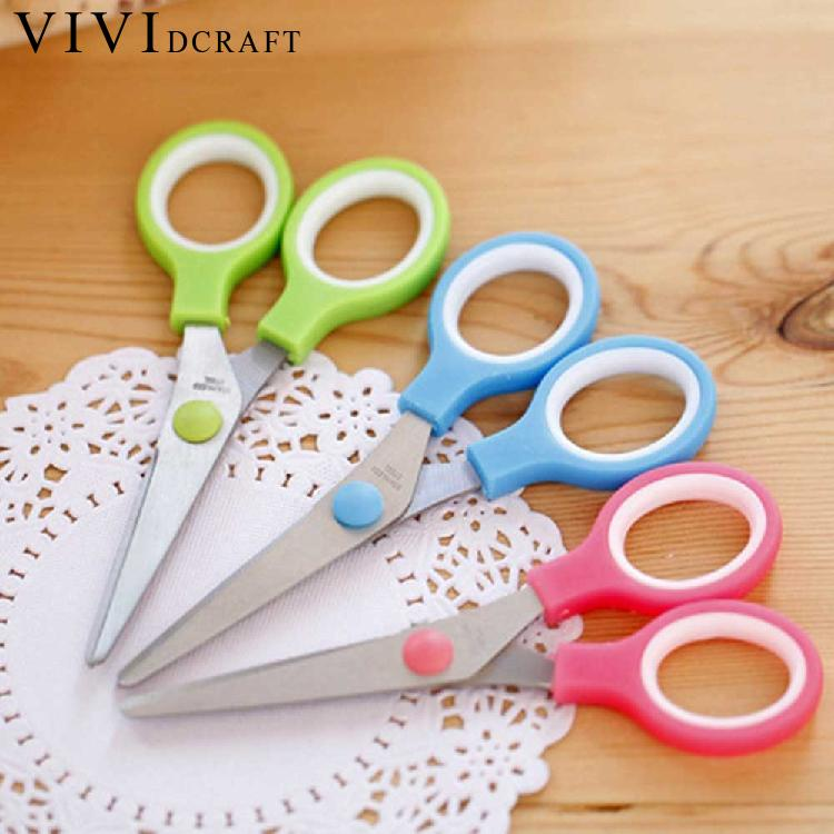 Vividcraft Office Stationery Cutting Scissors Stainless Steel Scissors Utility Scissors Diy Crafts Office Tailor Cutting Tools
