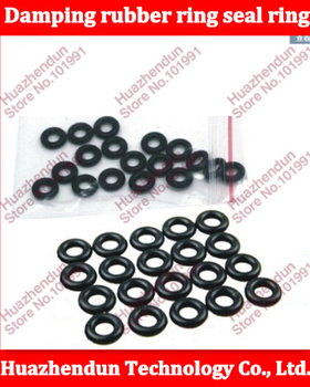 2000pcs High Quality Black rubber damping rubber ring seal ring gasket conditioning type O coil diameter M5 5*9*2MM