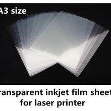 A3 Размер завод прямой поставщик лазерная прозрачная пленка, прозрачная пленка, пленка для клиширования, PCB пленка