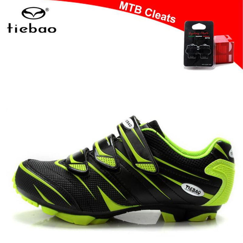 TIEBAO Cycling Shoes sapatilha ciclismo mtb zapatillas deportivas mujer Men Bicycle mountain Bike Shoes Athletic outdoor shoes-in Cycling Shoes from Sports & Entertainment    1