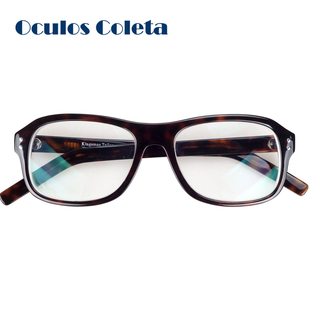Kingsman The Golden Circle Eyeglasses Frames with Anti reflective lens computer glasses-in Men's Eyewear Frames from Apparel Accessories