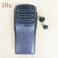 غطاء أمامي لجهاز اتصال لاسلكي motorola XIR P3688 DP1400 ، أسود اللون مع مقابض الصوت والقنوات