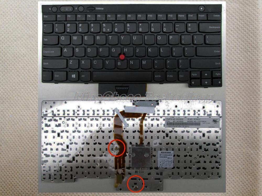 Original and New Black US laptop Keyboard For Lenovo T430 L430 W530 T430I T430S X230I X230 T530I backlight 100% tested new original laptop keyboard for lenovo thinkpad t460p t460s us keyboard english with backlit backlight 00ur395 00ur355