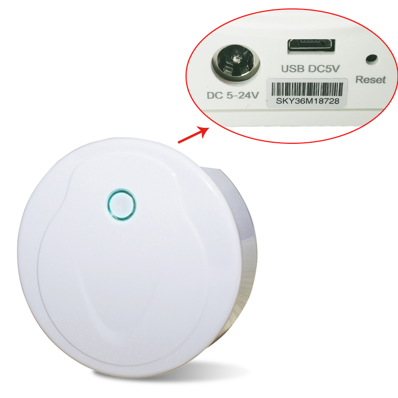 WiFi-Realy LED de contrôle UFO wifi LED de contrôle récepteur principal WiFi au convertisseur RF DC 5-24 V travailler avec récepteur V1/V2/V3/V4