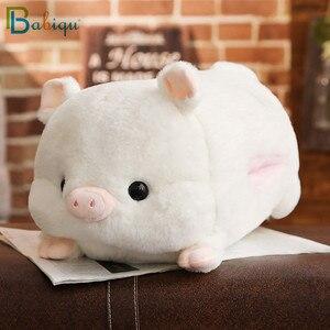 Image 3 - 1 adet 50cm yumuşak Kawaii aşk domuz peluş yastık dolması sevimli hayvan yastık el ısıtıcı çin zodyak domuz oyuncak bebek doğum günü hediyesi çocuk