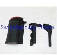 Un juego de 3 uds nuevo original Bady rubber (Grip + lado izquierdo + pulgar) piezas de reparación para Nikon D500 SLR