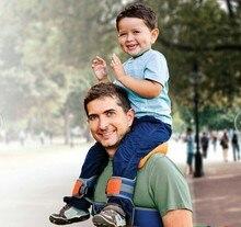Hands-Free Shoulder Carrier Nylon Child Strap Rider for 2-5 Years Old Kids Baby Safest Kangaroo Wrap Sling Suspenders