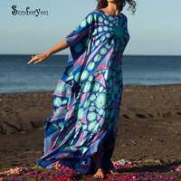 Vestidos de Playa de algodón de talla grande vestidos de Playa de 2019 para Mujer vestidos de Playa