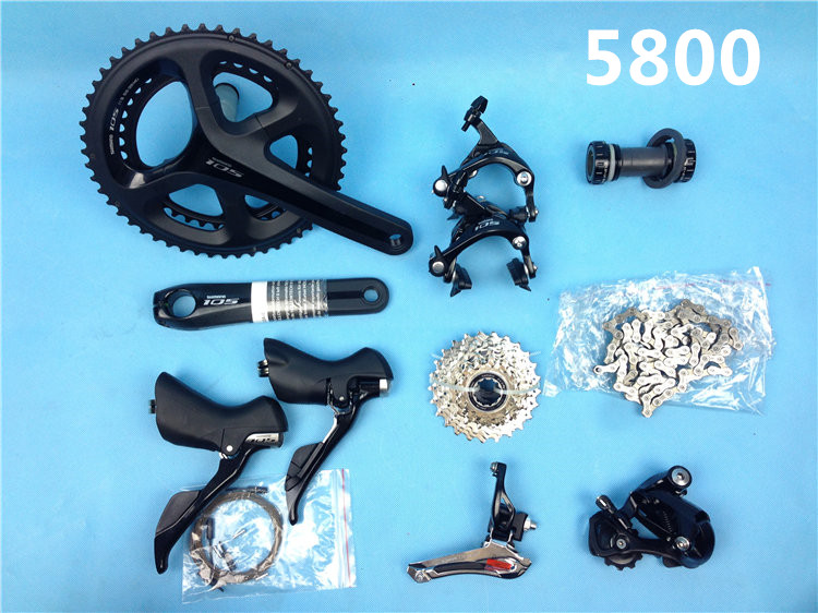 shimano 5800 groupset 105 road font b bicycle b font bike groupset 11s Road cycling bike