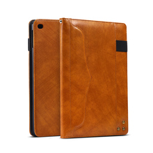 Leather Case For iPad 9.7 2017 Cases Flip Stand Bumper For Apple iPad 9.7 2017 2018 A1822 A1823 A1893 A1954 9.7 inch Covers