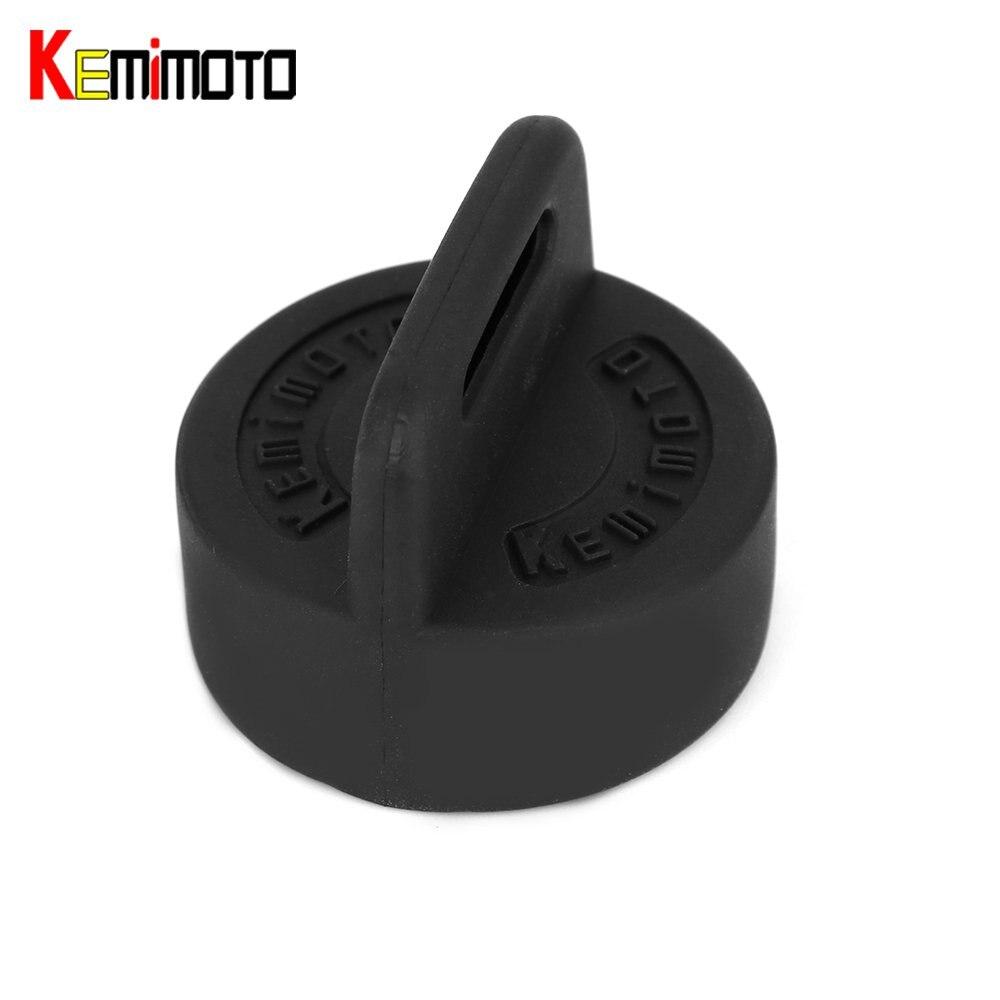 KEMiMOTO Igntion Key Cover Keyswitch Rubber Entry Key Fob Skin Cover Protector for Polaris Sportsman Scrambler Black Trail Boss