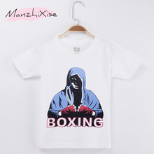 2019 New Product Children Clothing Kids T-shirts Boxing Hipster Top Cotton Child Shirts Boy Short T Shirt Baby Tee Girl Clothes