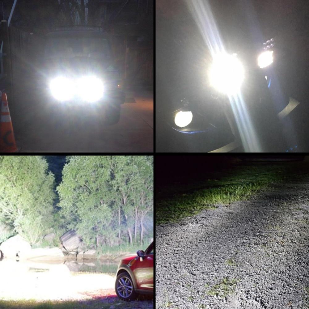 Safego 27W led munkalámpa 12 V LED Traktor munkalámpa terepen 4X4 - Autó világítás - Fénykép 6