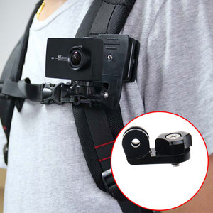 Image 4 - Quick Release Backpack Belt Hat Clip Mount Adapter for Sony AS50 AS300R AZ1 X3000R/Gopro 7 5 /SJcam/Xiaoyi 4k for iPhone huawei