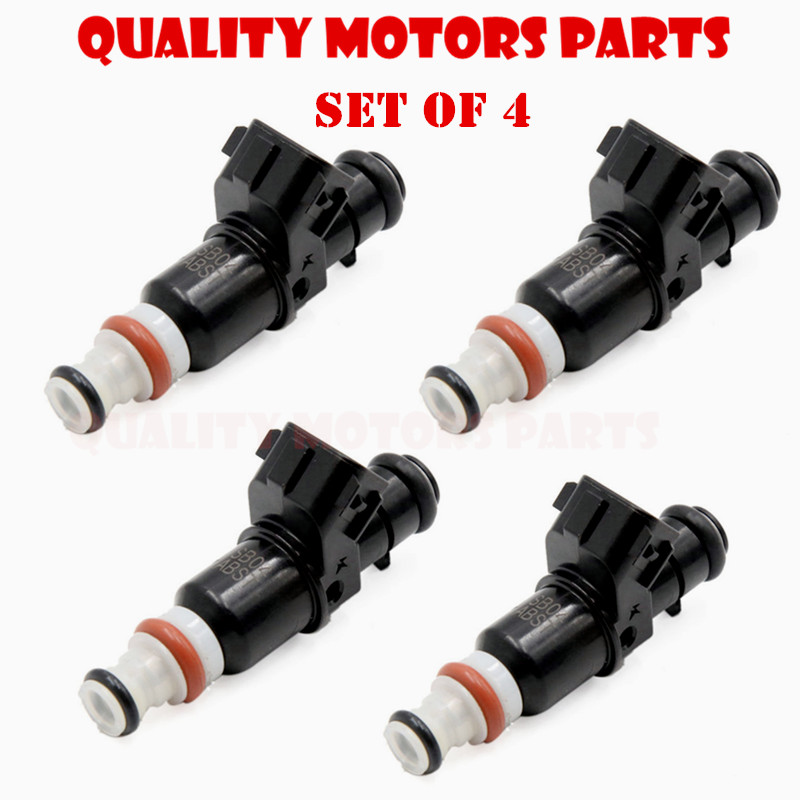 Set Of 4 Keihin T Fuel Injectors For 2005 2006 Acura RSX