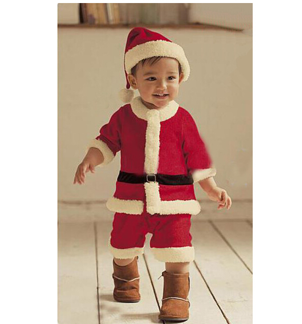 Christmas Costume Baby Boy Santa Claus Clothing Sets Toddler/Kid ...