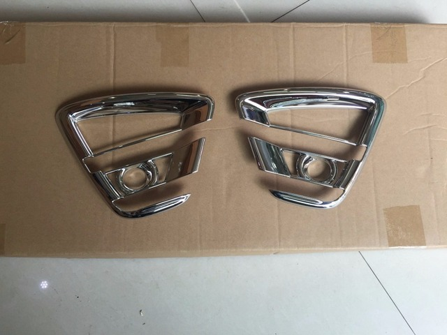 Car head fog light cover,auto front fog light trims for Mazda CX-5 2015 ,ABS chrome,2pc/lot,free shipping