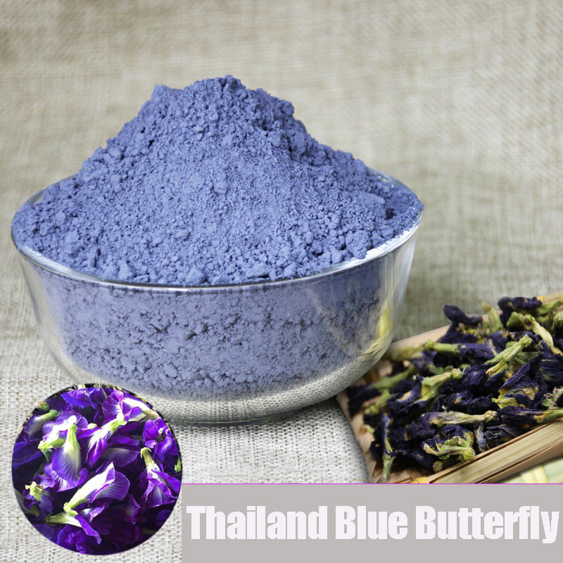 1bag 50g Clitoria Ternatea Pollen Flower Kitchen Toy.thailand Blue Butterfly Pea Tea Simulation Play House Toy.Vitamin A
