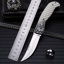 Stenzhorn 2017 Free Shipping High Quality Outdoor Folding Knife Self-defense Wilderness Survival With Hardness Wild Fruit Yakeli