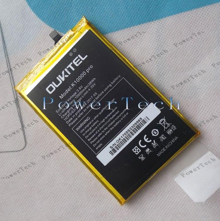100 Original K10000 Pro Battery Replacement 5 5inch Oukitek K10000 Pro Mobile Phone Battery