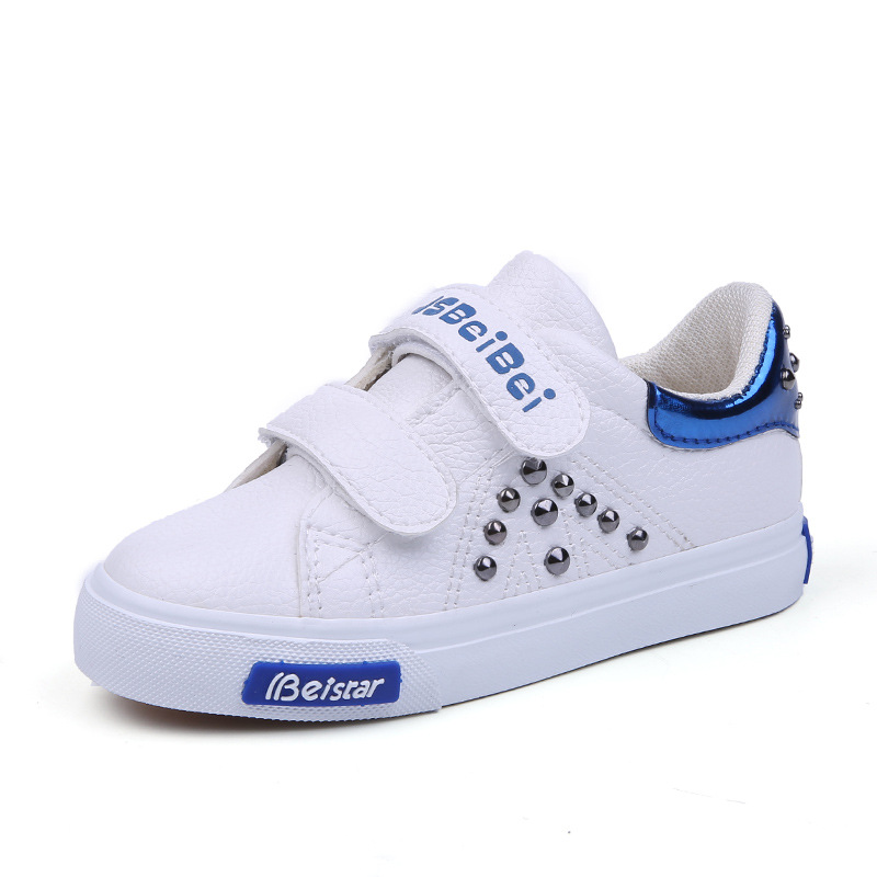 Hot sales fashion high quality children casual shoes Solid color new brand baby girls boys shoes comfort sports kids sneakers