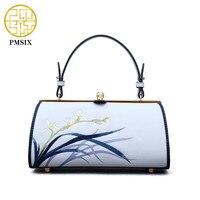 Pmsix 2020 Fashion Crossbody Bags Single Shoulder Bags Ladies Split Leather Bags Women Handbags Messenger bag Light Blue