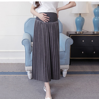 2018 Korean Fashion Maternity Skirts Autumn Winter Maternity Belly Skirt for Pregnant Women
