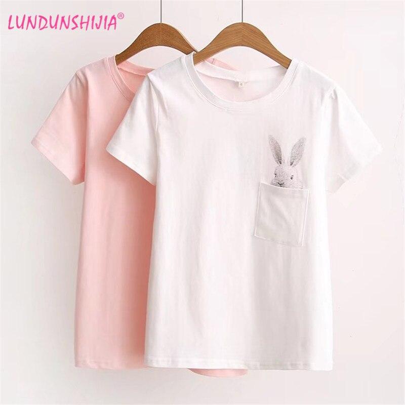 Pocket Rabbit Cute T-shirt