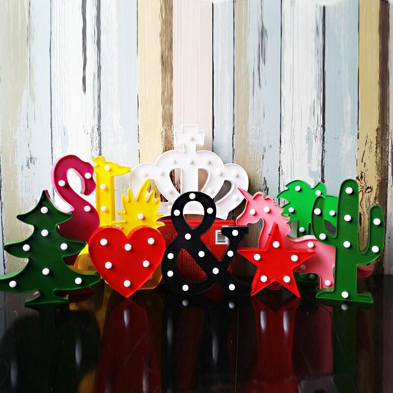 3D Night Light LED Wandleuchte Crown Notes Love Nachtlichter LED Brief  Nachtlampe For Baby Schlafzimmer Dekoration Kinder  In LED Night Lights  From Lights ...