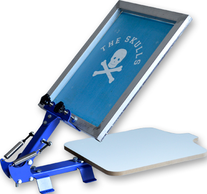1Color 1Station Silk Screen Printing Machine Press DIY T-Shirt Printing Brand New : 91lifestyle