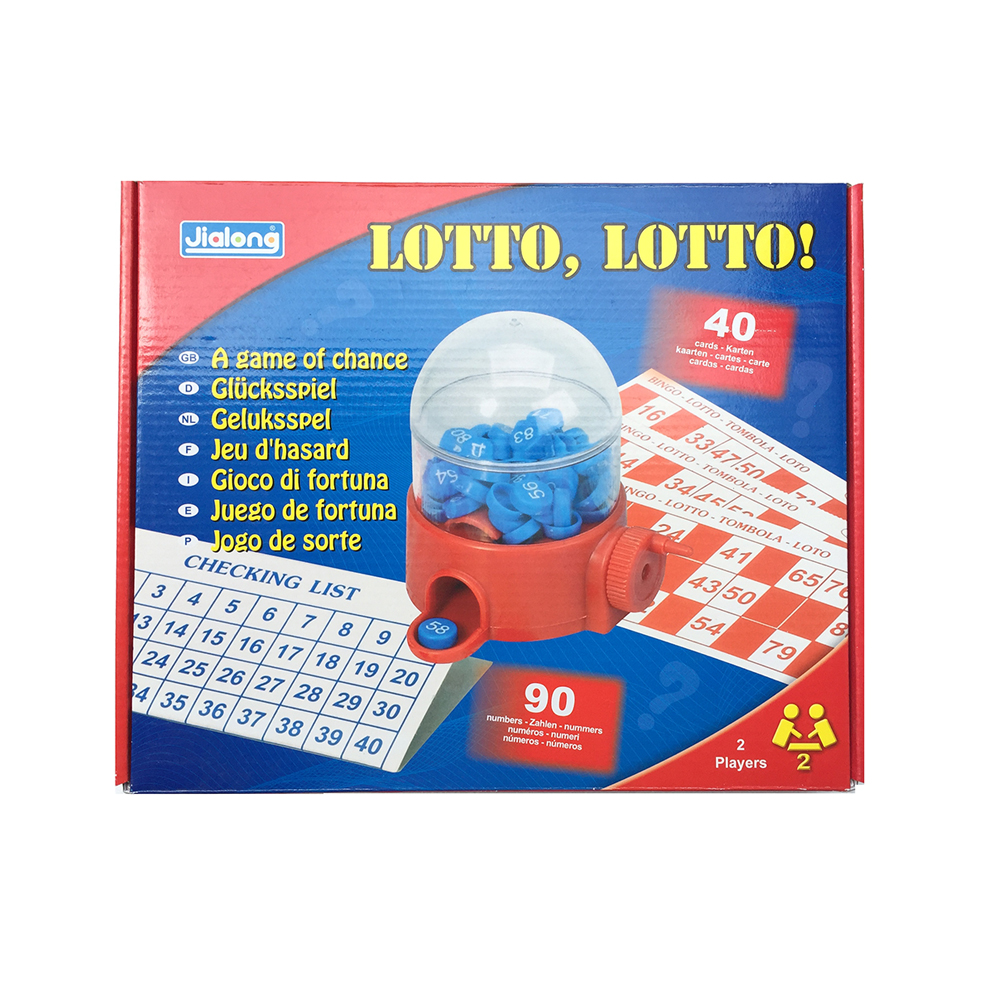 LOTTO Lottery Machine Bingo Tombola A Game Of Chance Bingo Board Games For Party/Commercial Performance