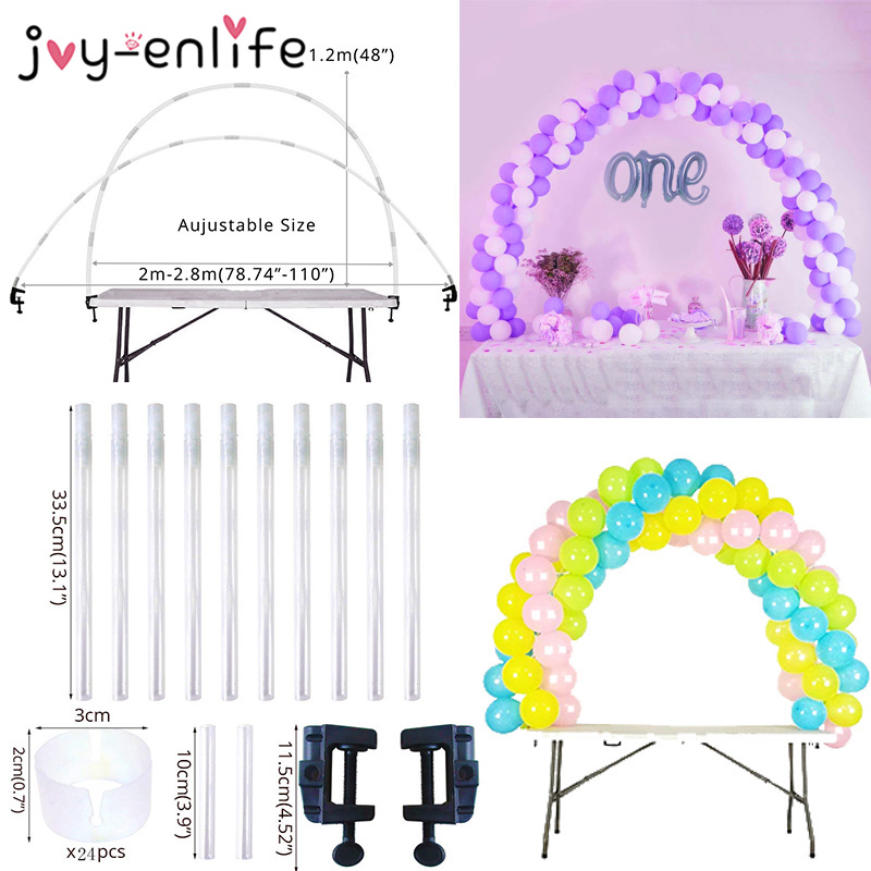 Balloons Holder Column Stand Birthday Party Decorations Kids Adult Balloon Chain Balloon Arch Globos Wedding Balloons Decoration(China)