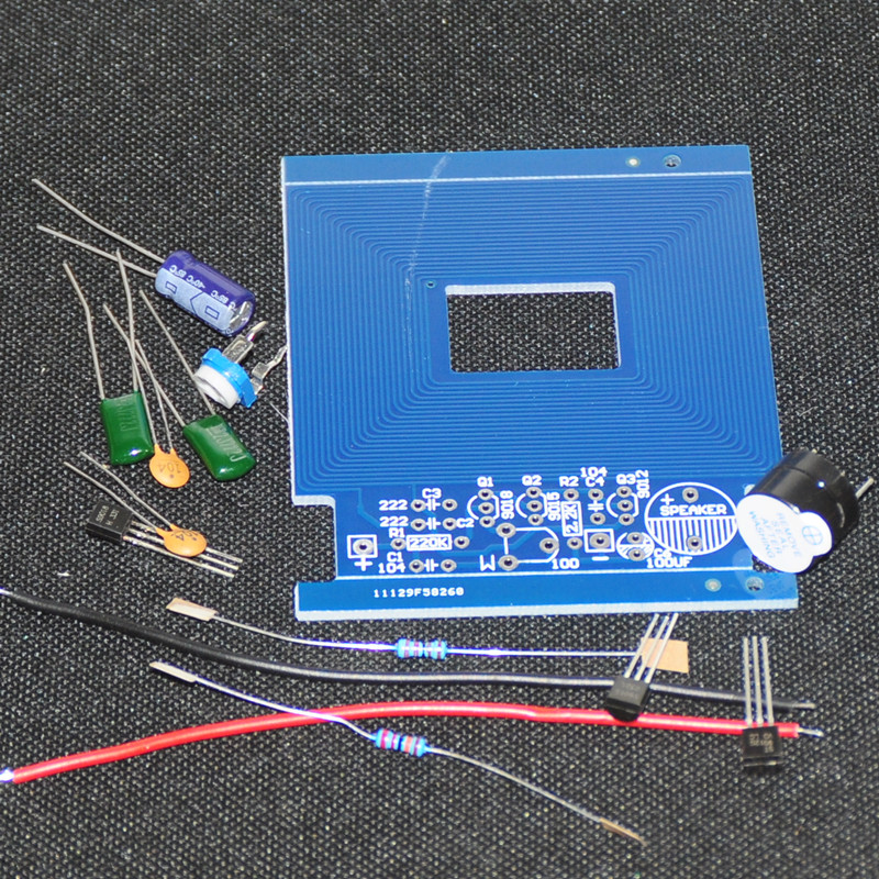 Elektronika DIY Kits Metal Detector Scanner Unassembled Kit Electroniqu Project 3-5V Sui ...