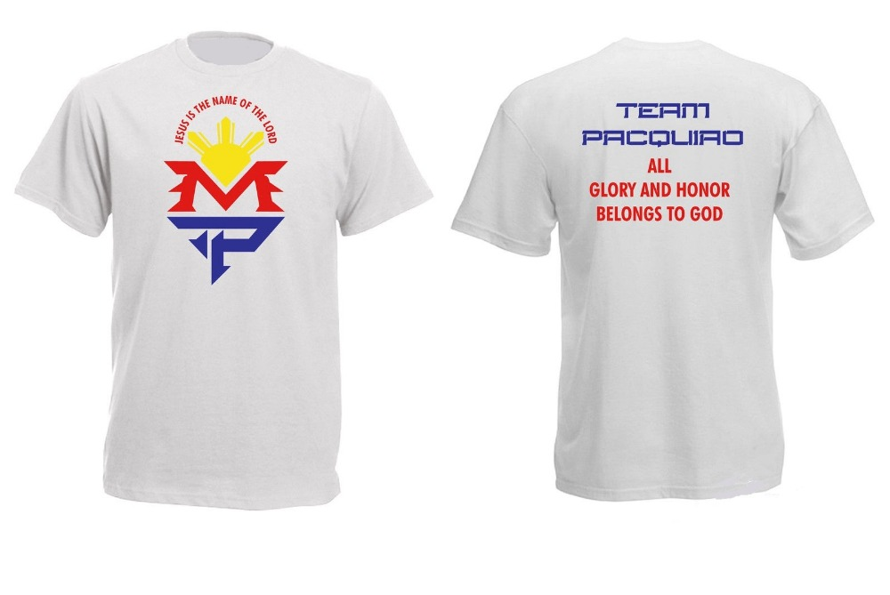 Brand new summer men 39 s t shirt manny pacquiao mp graphic for Manny pacquiao nike t shirt