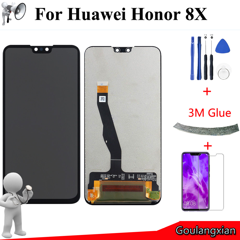 6.5 AAA Original LCD For Huawei Honor 8X LCD Display Touch Screen Digitizer Assembly For Honor 8X JSN-L21 JSN-L42 JSN-LX2 LCD6.5 AAA Original LCD For Huawei Honor 8X LCD Display Touch Screen Digitizer Assembly For Honor 8X JSN-L21 JSN-L42 JSN-LX2 LCD