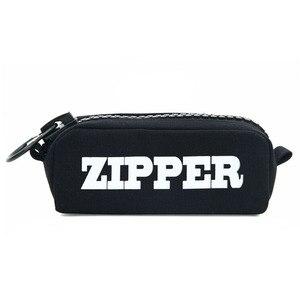 Big zipper pencil bag Canvas C