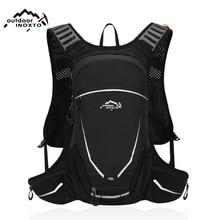цена 18L Waterproof Bicycle Backpack Men's Women MTB M Bike Water Bag Nylon Cycling Hiking Camping Hydration Backpack онлайн в 2017 году