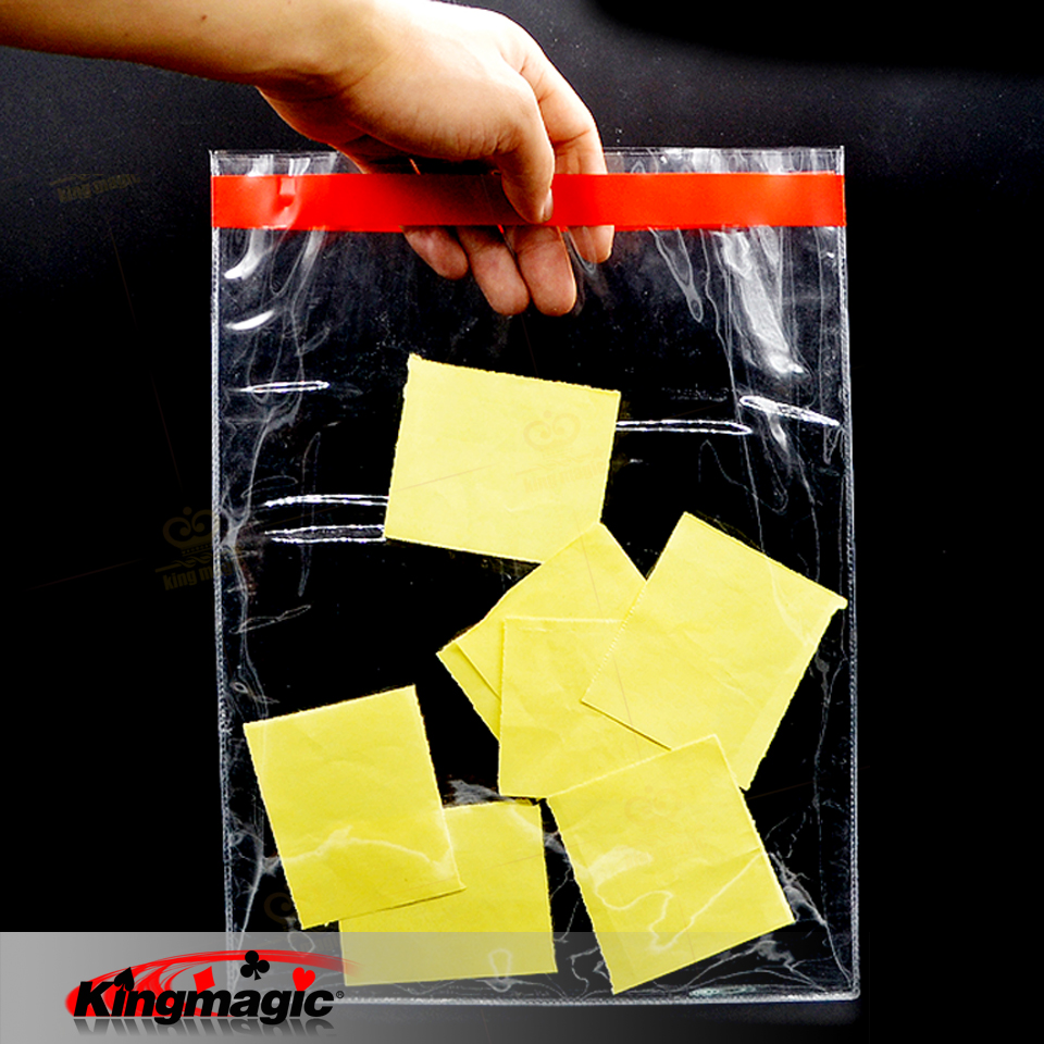 1pcs Clear Force Bag Magic Tricks Mentalism Magic Illusion Professional Magician Gimmick