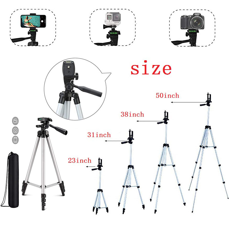 Portable Smartphone Digital Camera Flexible Tripod For