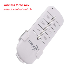 220V 3 Channels Way Digital Wireless Light Lamp Home Wall Corridor Switch Splitter Box Durable Remote Control switch