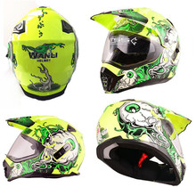 DOT approved helmet motocross helmet capacete de moto helmet capacete casco motorcycle helmet S M L XL XXL size double visors