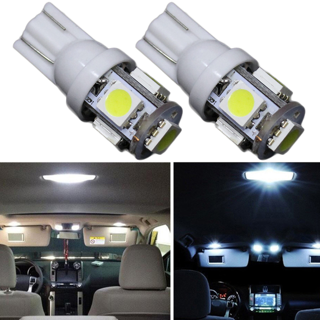 12v 6pcs Led Bulb Interior Lights Package Kit For Toyota Camry 2017 Trunk Dome