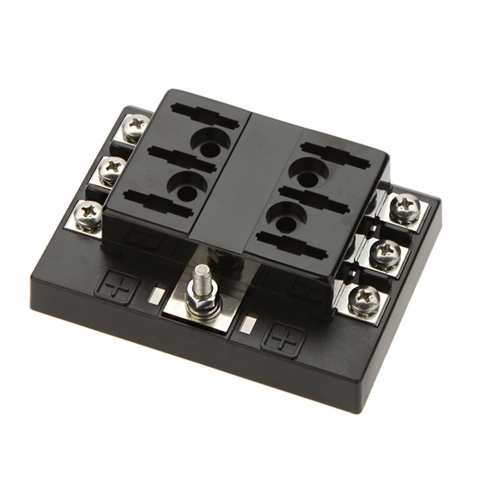 Hot Sale 6 Way Circuit Car Fuse Box Holder 32V DC Waterproof Blade Fuse holder Block aliexpress com buy hot sale 6 way circuit car fuse box holder circuit fuse box at readyjetset.co