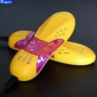 Free Post 220V 10W EU Plug Race Car Shape Voilet Light Shoe Dryer Foot Protector Boot