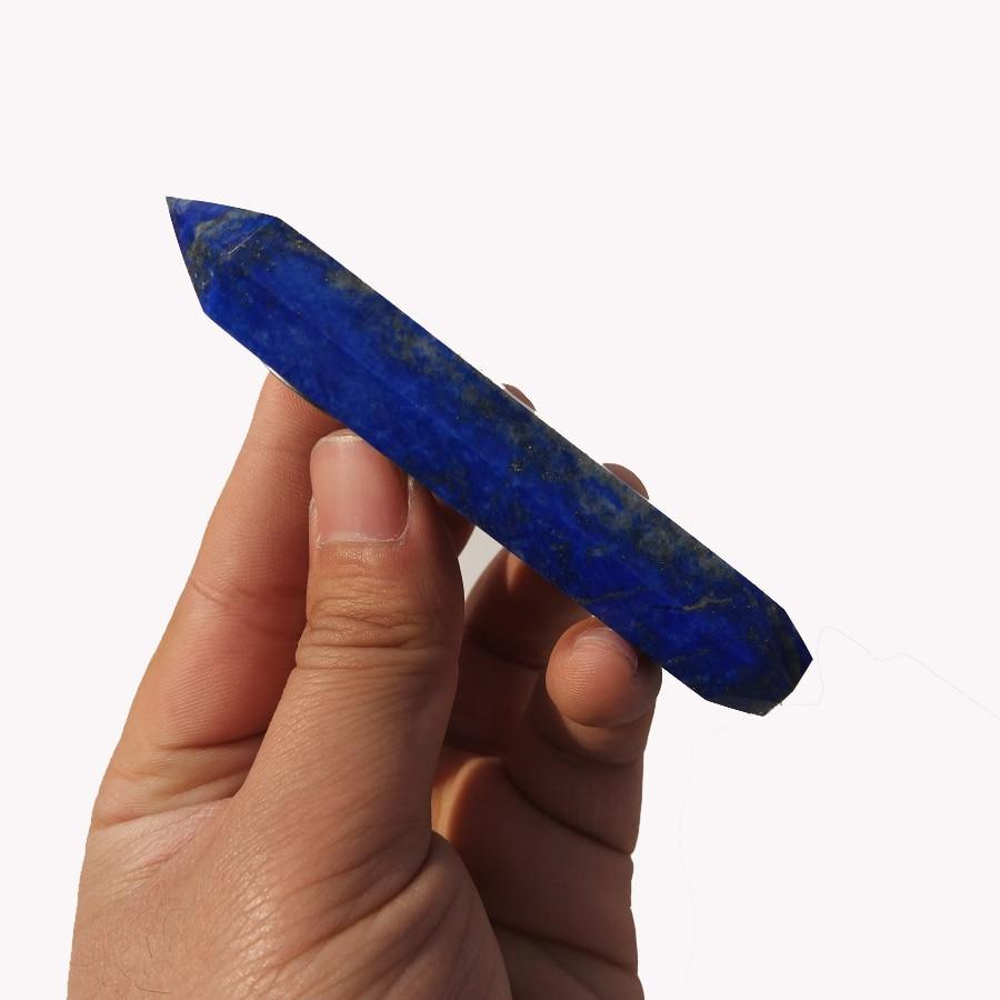 Lapis Lazuli Crystal Healing Pipe 4