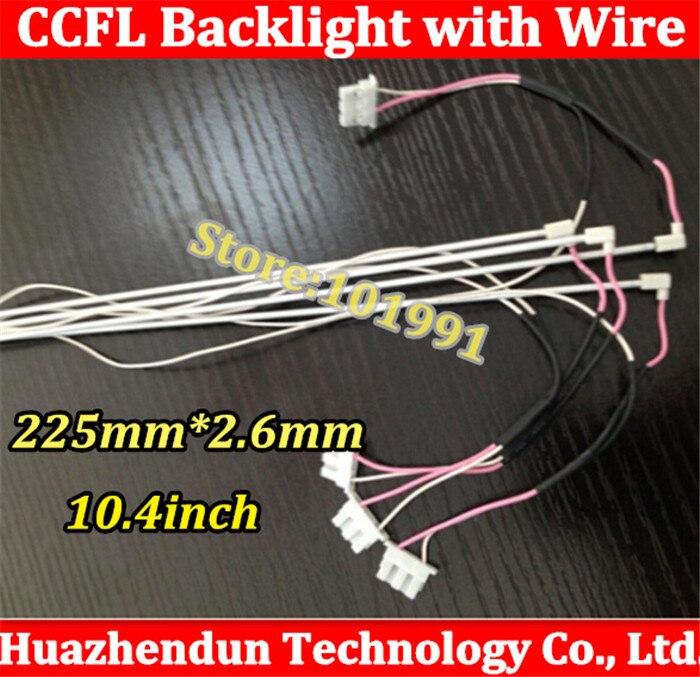 10pcs New Industrial screen 10 4 inch display LCD backlight lamp lamp 225mm 2 6mm ccfl