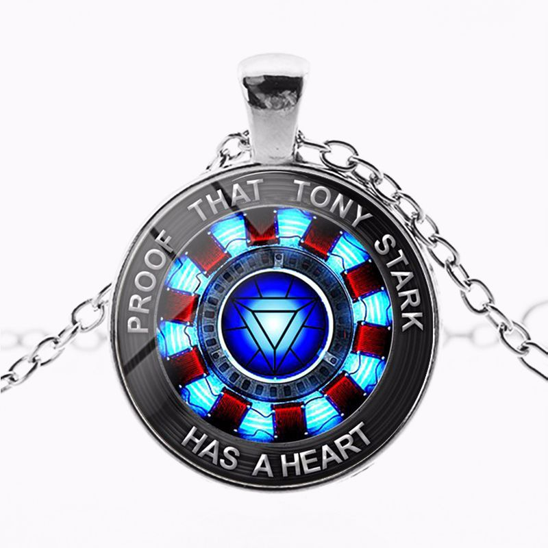 Image 3 - marvel avenger endgame Iron Man arc reactor necklace Tony Stark Necklace Quantum Realm pendant action Figure toy cosplay men kid-in Action & Toy Figures from Toys & Hobbies