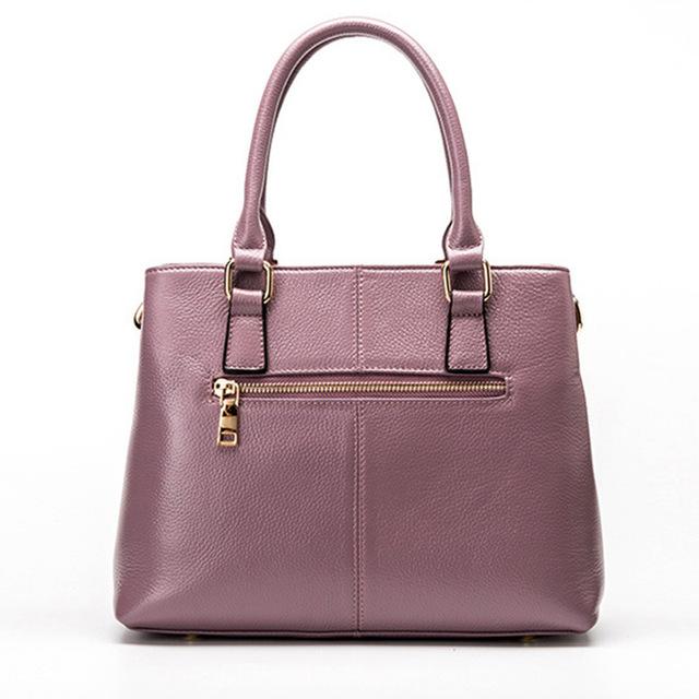 RanHuang Brand Women Genuine Leather Handbags New 2019 Luxury Handbags High Quality Women's Fashion Shoulder Bags Elegant Bags
